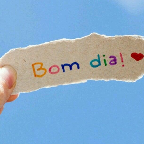 Mensagem de amor para namorado - Bom dia!