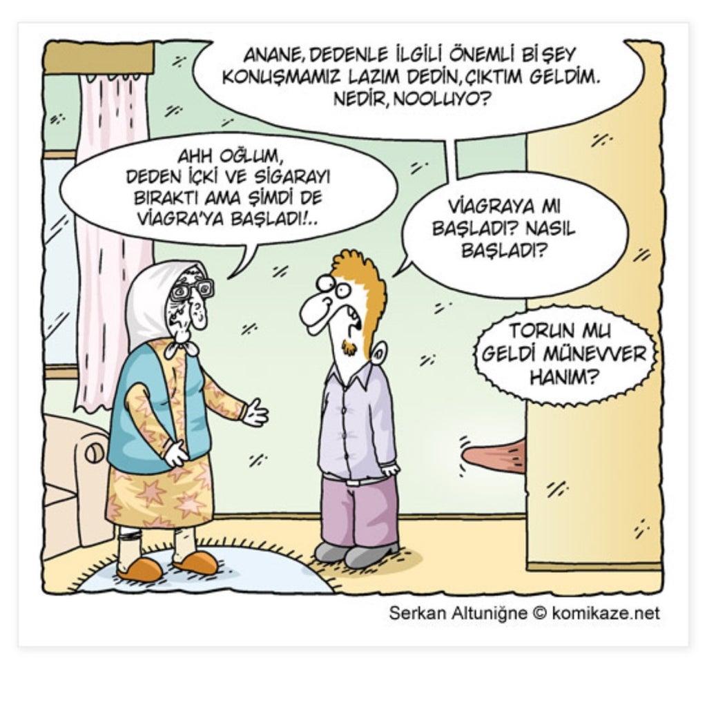 Cartoon Viagra