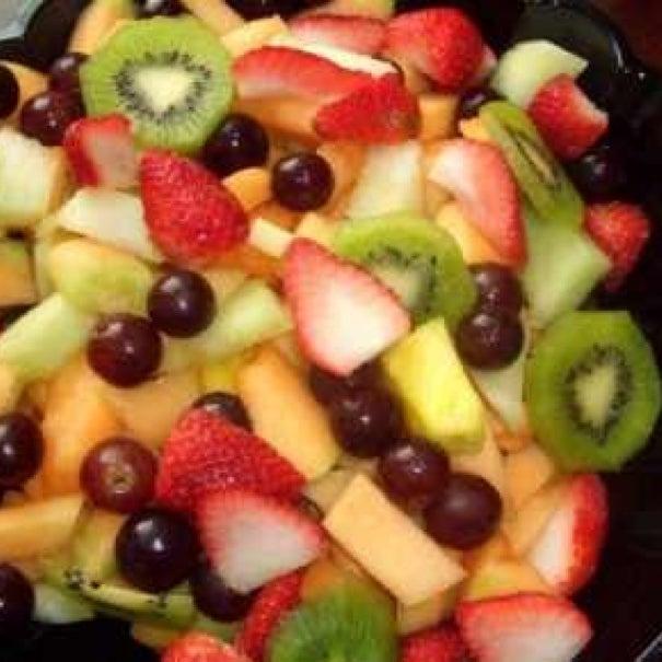 Простые фруктовые салаты рецепты с фото
