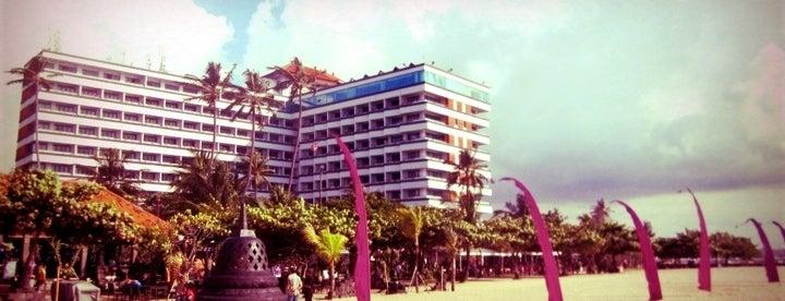10minutesinna_inna grand bali beach hotel is one of denpasar - bali.