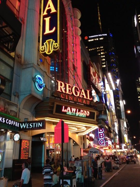 Regal Cinemas E-Walk 13 RPX - Theater District