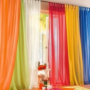 Как сшить шторы для зала