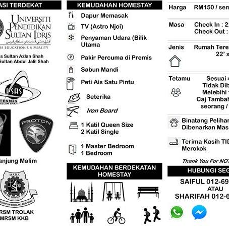 Homestay Tanjung Malim Tanjong Malim Perak