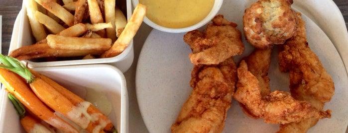 Fancy chicken food