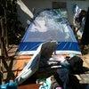 Foto Acampamento Em Coluna, Coluna