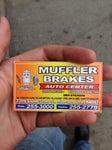 Muffler & Brake