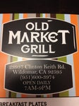 OMG - Old Market Grill