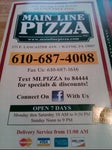 Main Line Pizza