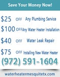 Water Heater Mesquite TX