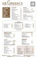 EB Green's Steakhouse