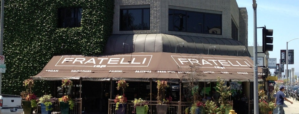 Fratelli Cafe is one of The 15 Best Places for Paninis in Los Angeles.