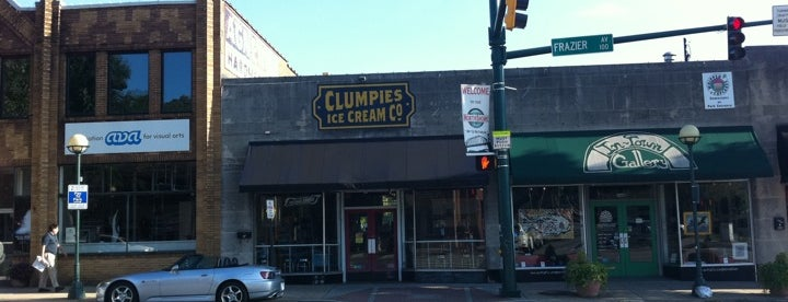 Clumpies Ice Cream Co is one of The 7 Best Places for An Apple Cider in Chattanooga.