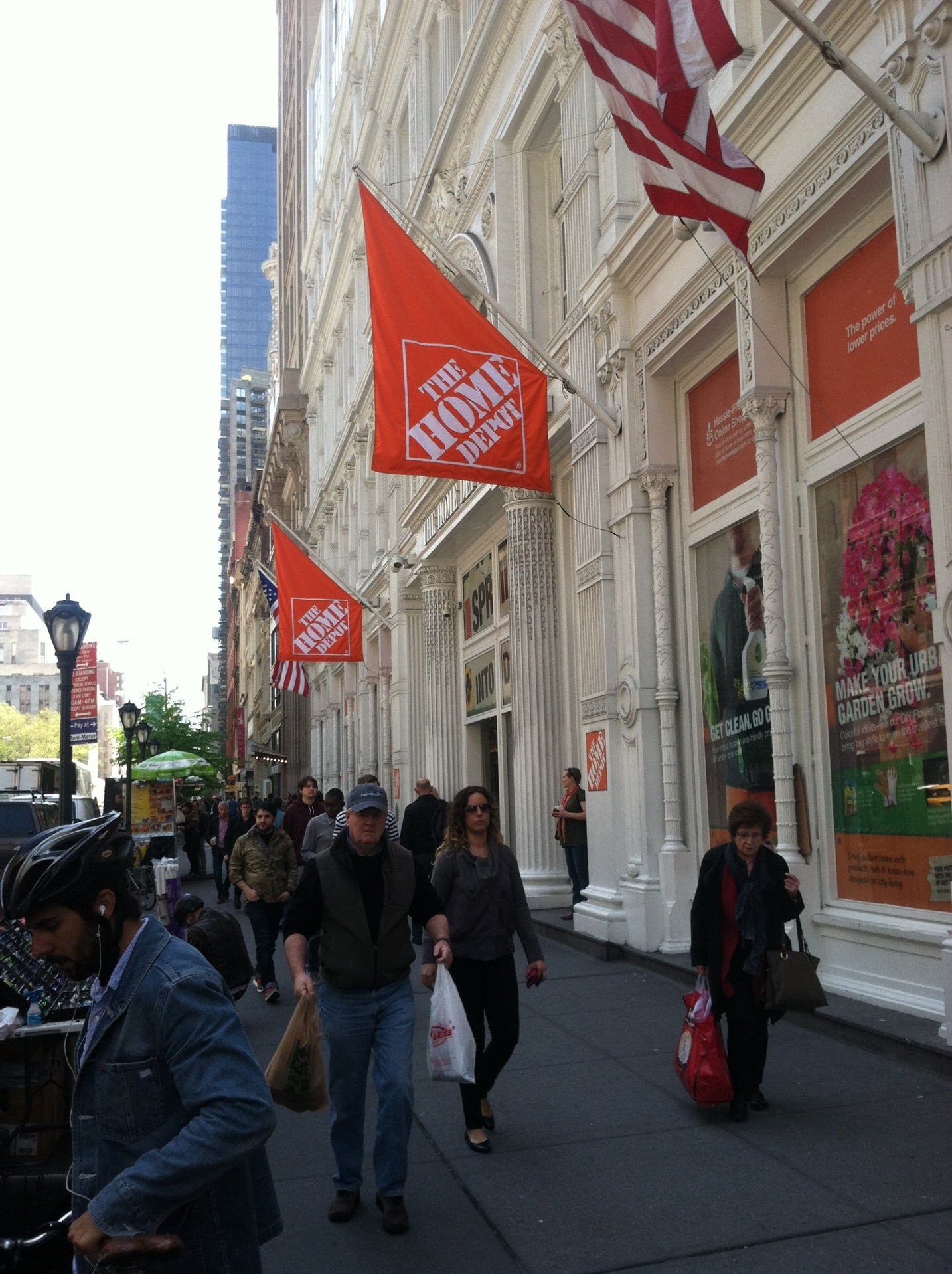 The Home Depot at 40 W 23rd St New York NY