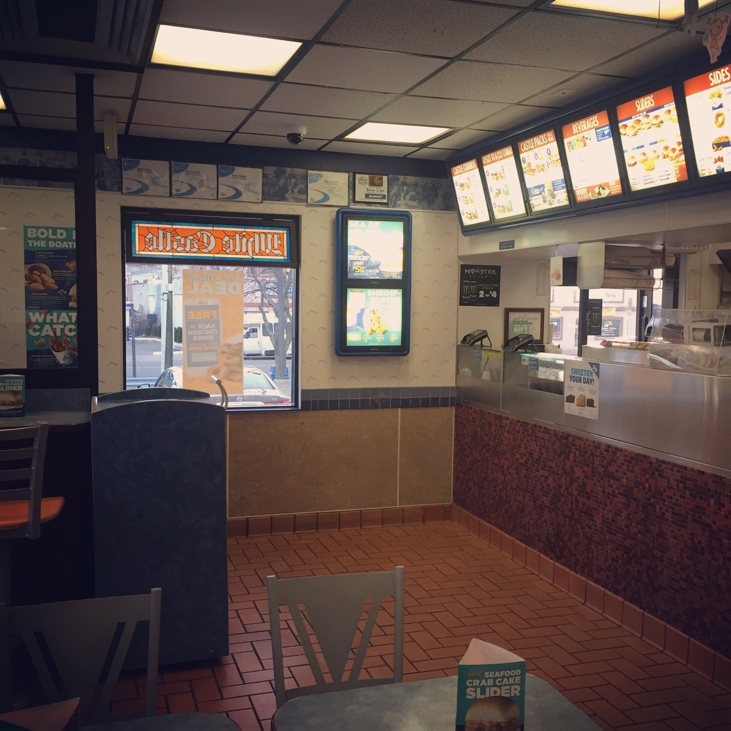 white castle at 9271 kennedy blvd north bergen, nj - the daily meal