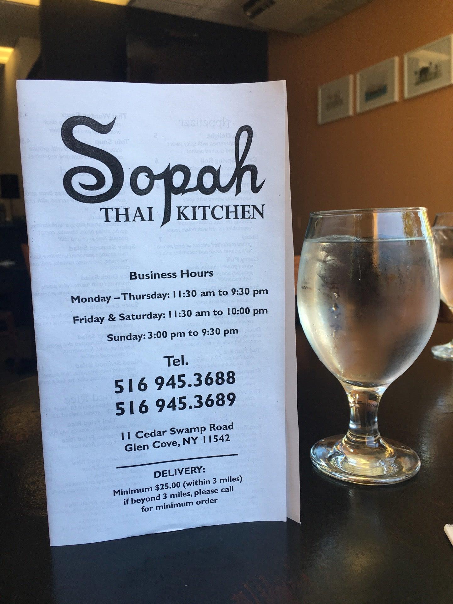 Sopah Thai Kitchen at 11 Cedar Swamp Rd Glen Cove NY The Daily Meal