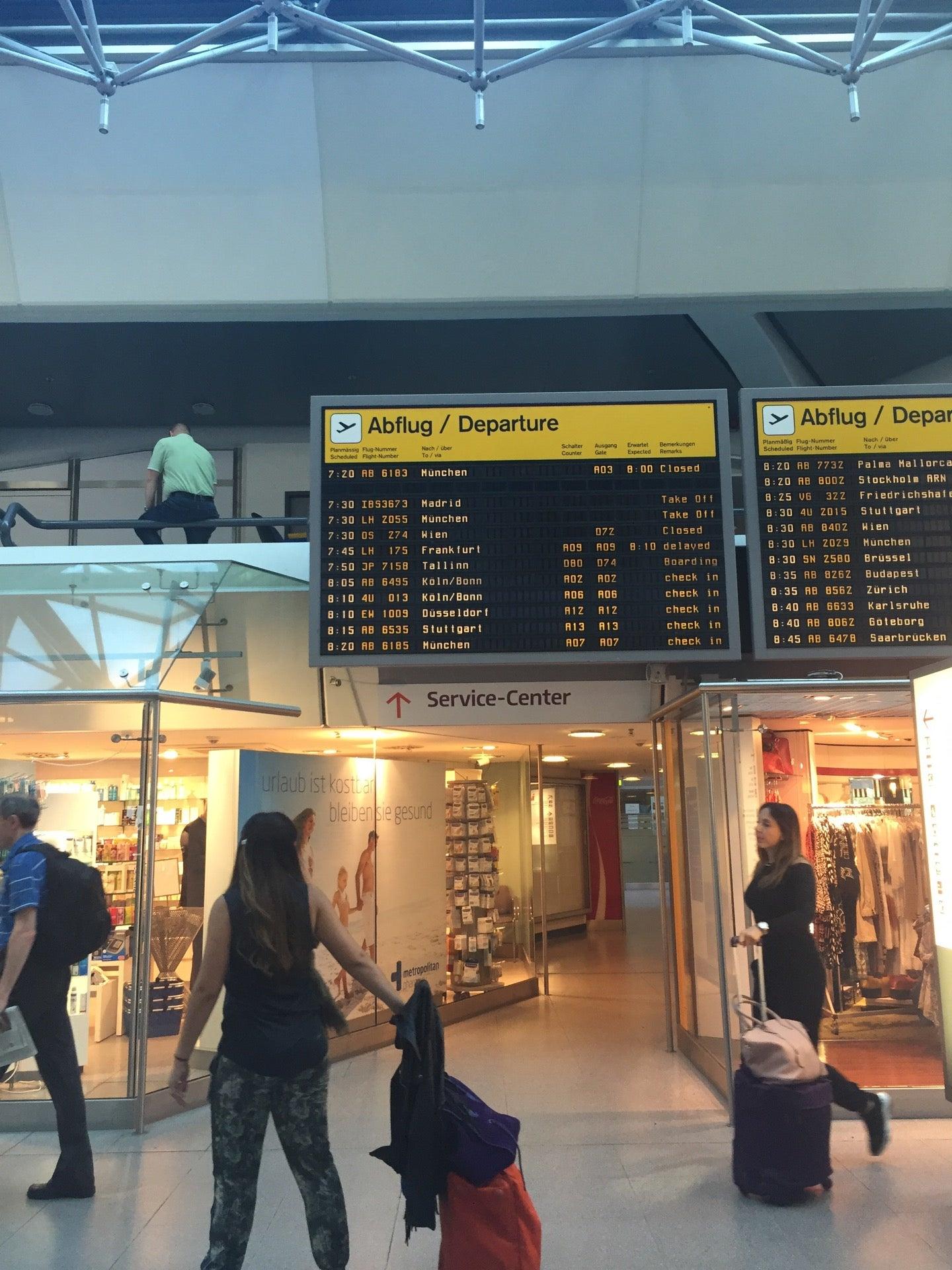 Txl berlin tegel airport flight arrivals flight for Berlin tegel rent a car