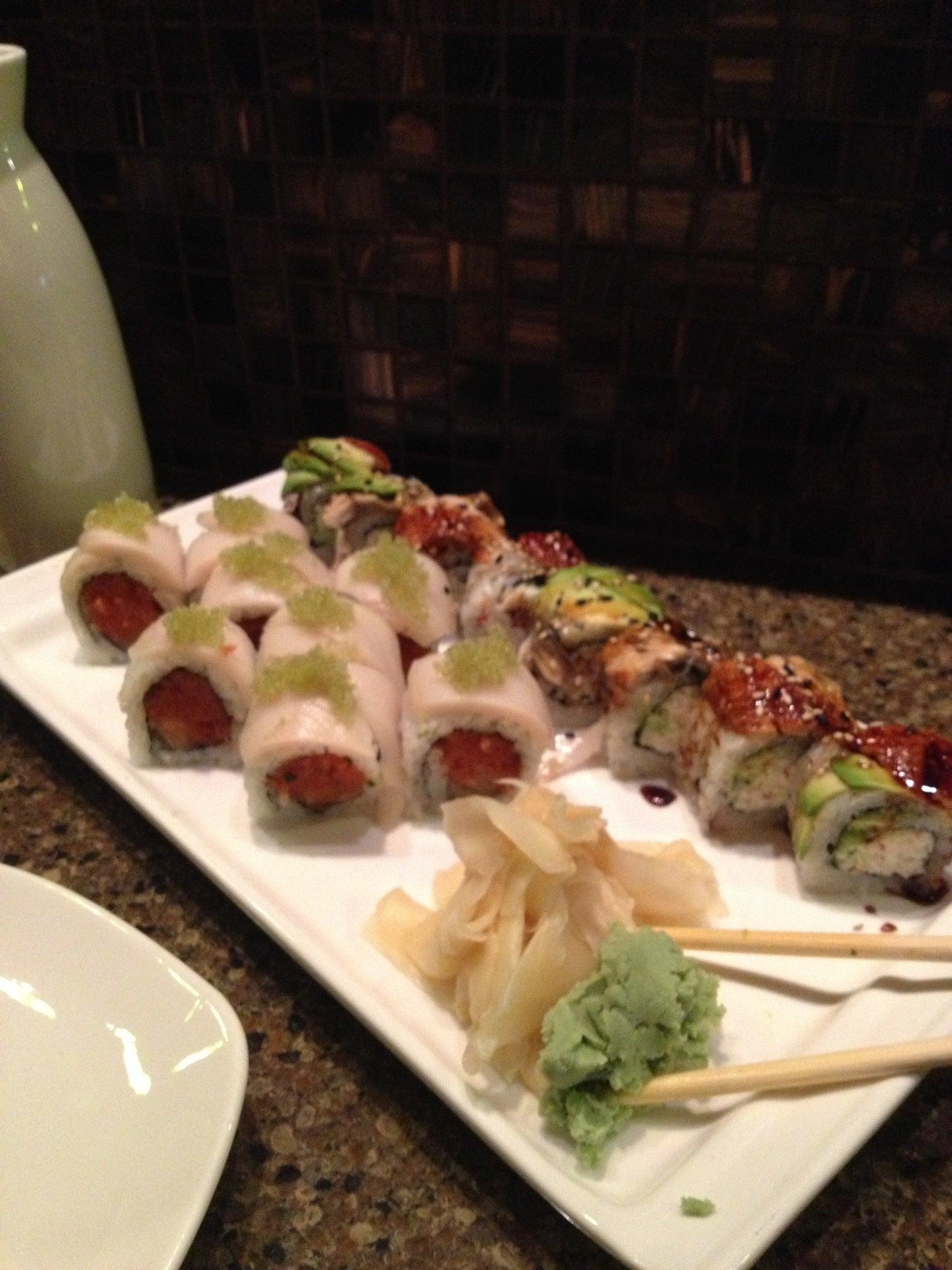 Nagoya Japanese Steakhouse & Sushi at 6190 Levis mons Blvd