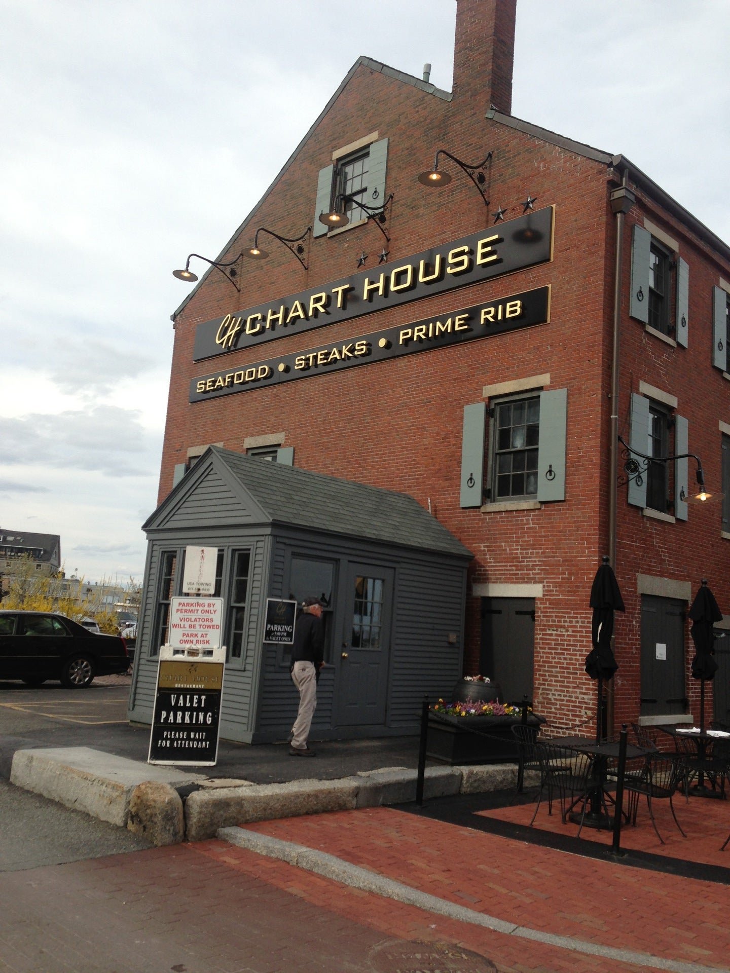 Chart House Restaurant at Long Wharf Boston MA