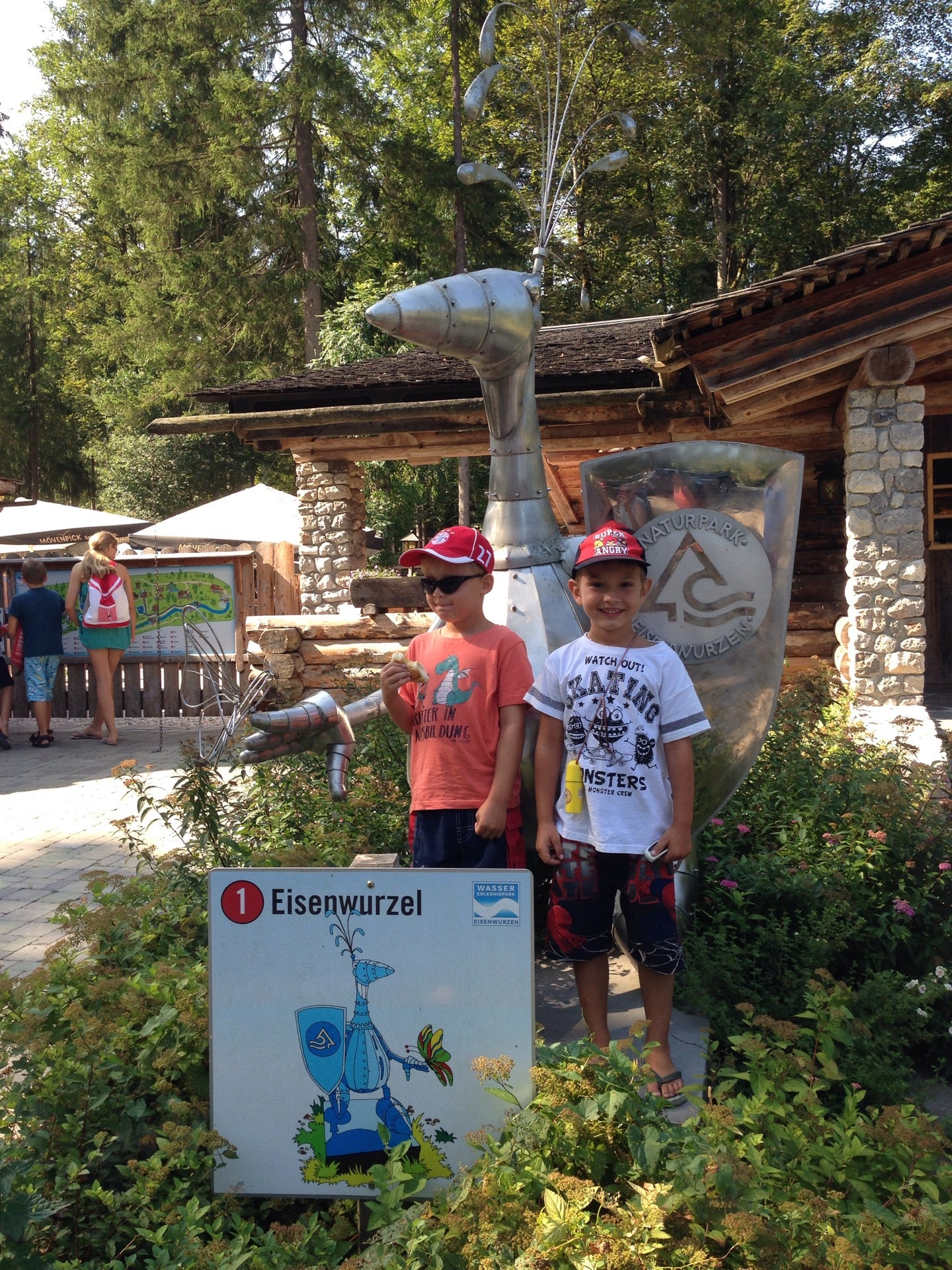 BBW im Wasserpark