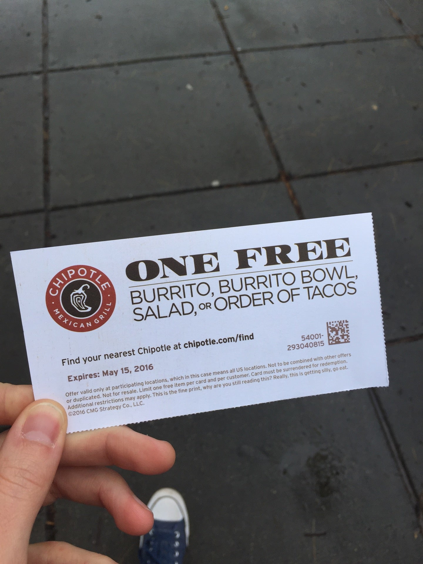Chipotle Mexican Grill at 1045 5th St NW 5th and K Sts NW