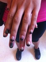 Kim's Pink Nails