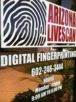 Arizona Livescan Fingerprinting