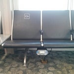 Awesome outlets at chairs. Every airport should get these!