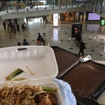 Nice, clean airport. If you like local Cantonese cuisine, do yourself a favor and bring food from your favorite spot in the city. Restaurants are fine, but unremarkable.