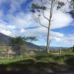 No hay wifi, pero la vista al volcán es una nota!