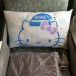 Fly one of the Hello Kitty-themed planes on EVA Air!