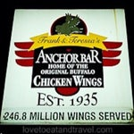 I want to stick my face in wing sauce. Anchor Bar's smells kill me when I get off the plane. (Not hungry? Snag the 3-wing option to wipe the drool from your face)