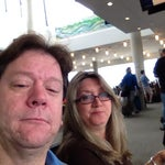 With Dee Dee, off to see Melissa in Oregon.