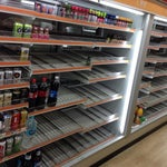 You can buy beer at 7-eleven and drink in the terminal