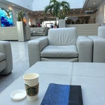 If you have a Diners Club card or Platinum/Black Amex- DON'T go through security! There is a business lounge you can use and board from here instead. Easy!