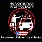 Los taxistas son peligrosos y la compañía de turismo no hace nada