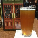 A couple local brews on tap at Thee Irish Pub in Terminal B for the beer lover. Drinking a Short's Huma Lupa!
