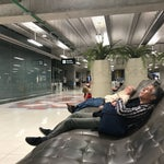 Best airport for layovers. You have fresh water and some awesome seats to sleep in, one size fit all.