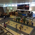 Well organized airport with an efficient hub and spoke layout.  Nice shops and food choices while you wait.