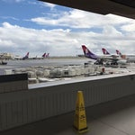 Great airport serving Honolulu.  Very quick.  Does not have wifi.