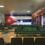 Most boring and slow airport ever but, you are in cuba, enjoy!