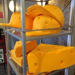 Think you missed the chance to get a cheese hat? Grab one in the Airport to wear on the flight.