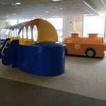 Kids play centre including tanker, airliner and tug is located at gate D7. Looks great.