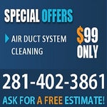 Cleaning Air Ducts Pasadena TX