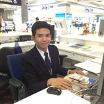 "ANUCHIT RAKCHART (""arm"" western name) is the most helpful kind person in the airport. He help me find my passport, never lost his smile and his English is perfect. He is in concourse G"