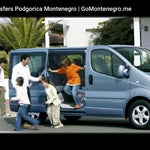 Taxi and Van transportation from airport Podgorica. www.gomontenegro.me
