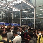 If you need visa on arrival — expect to wait at least 1 hour in a huge line. You better fill the form already standing and airport should better make visas online.