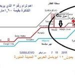 خريطة الميترو في العاصمة سراييفو فيها بعض الشرح بالعربي .. للحفظ بالجوال .. Best Regards & love from Riyadh
