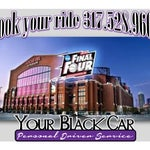 In #Indy for the #NCAA #FinalFour?  Book your 5 star black car ride with YourBlackCar.net.  Call 317.528.9600 http://ow.ly/L0OVd
