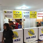 KBZ check-in counter