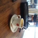Buen cafe precioso día calor buena gente